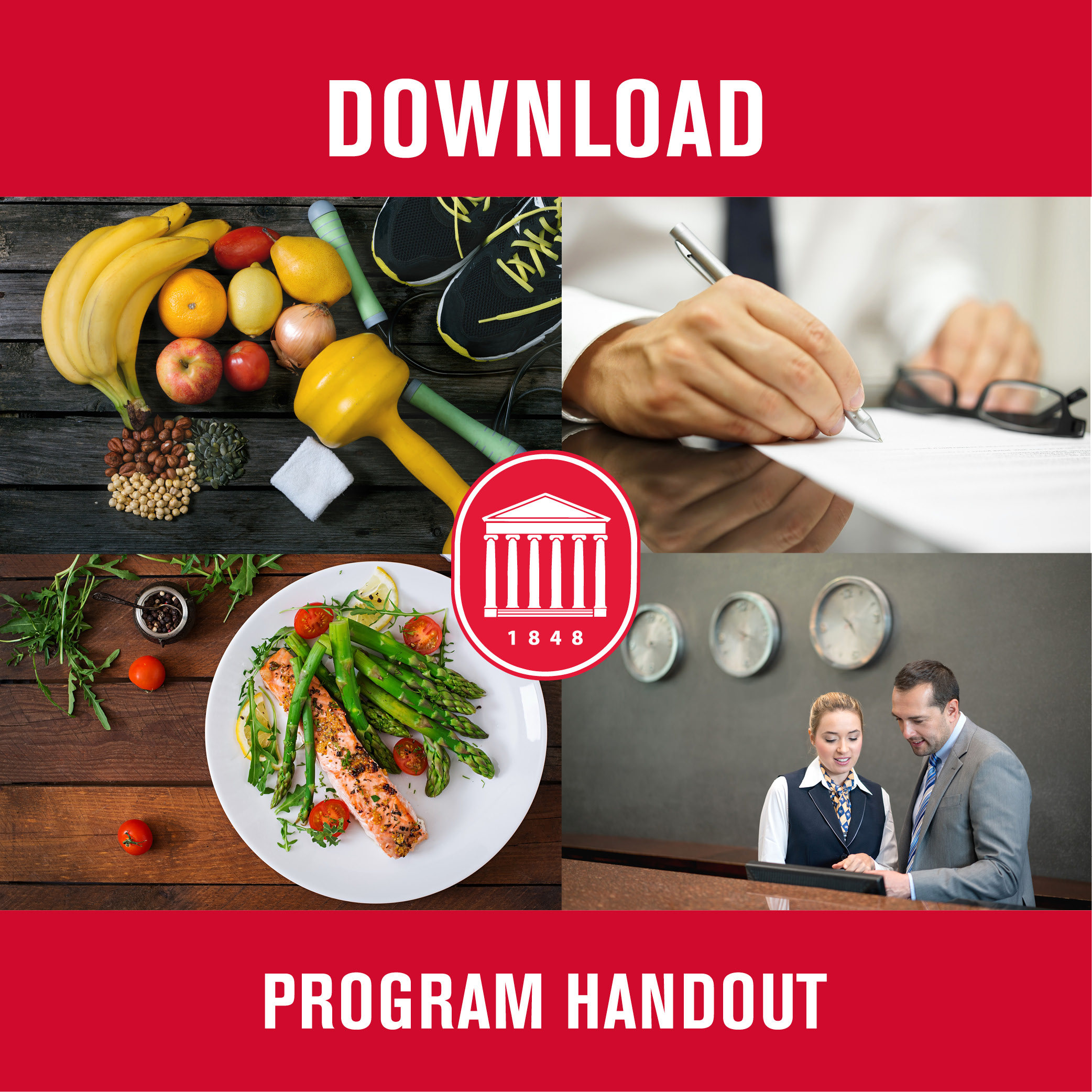 Online MS in Hospitality Management program handout (PDF)